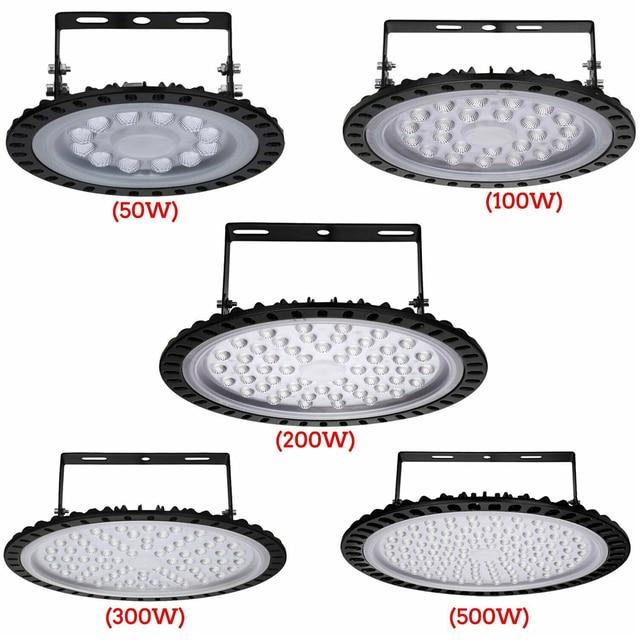 Фото 50 вт 100 200 нло светодиодные лампы для высоких промышленных