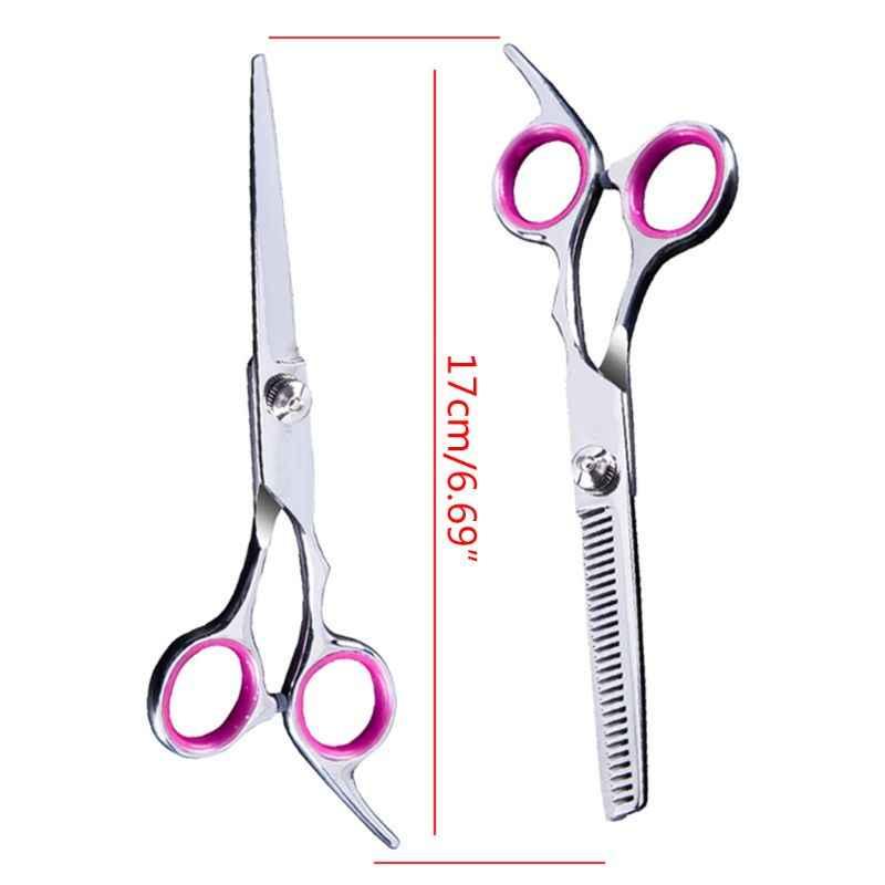 11 шт., профессиональный набор ножниц для стрижки волос, филировочные ножницы, бритва, гребень, клипсы, парикмахерский набор, парикмахерский салон для домашнего использования
