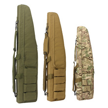 70 100 120cm ציד תיק Airsoft הצבאי צלף אקדח לשאת רובה מקרה צבא Combat קרבין כתף תרמיל ציד אבזרים