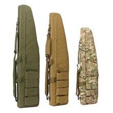 70 100 120cm sac de chasse Airsoft militaire Sniper pistolet porter mallette à fusil armée Combat carabine épaule sac à dos accessoires de chasse