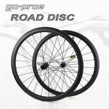 Carbon Wheelset Center-Lock Road-Disc-Brake Tubular Tubeless 700C Clincher 45 55 60 Or