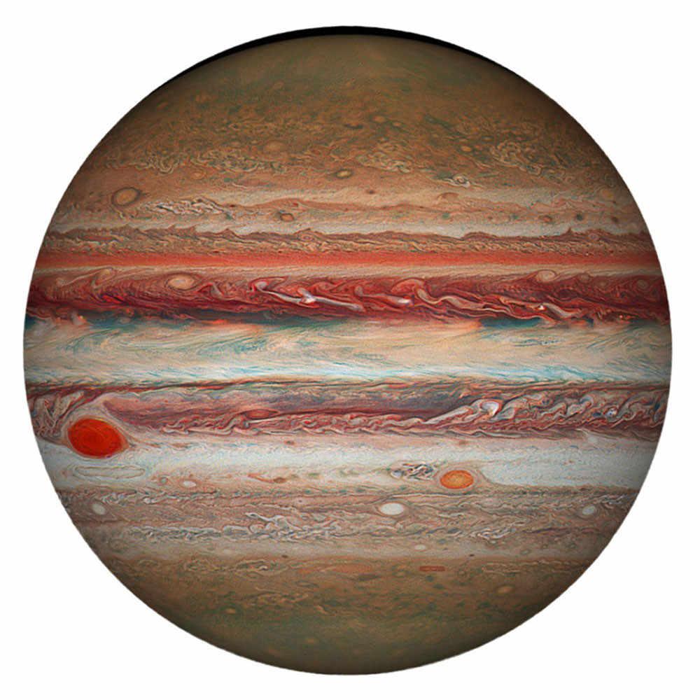 1000 個のパズルラウンドジグソーパズルパズル木星困難惑星紙収集ゲーム組立ホームゲーム知育玩具 2020