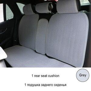 Image 5 - 1 חזרה או 2 קדמי לנשימה רכב מושב כרית/3D אוויר רשת רכב כיסוי מושב מחצלת fit ביותר מכוניות משאיות SUV להגן על מושבי