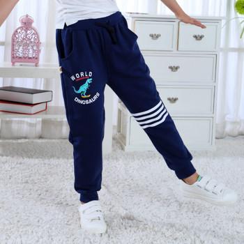 Chłopięce spodnie zimowe modne spodnie bawełniane dziewczęce ubrania 24 M-8 T bawełniane ciepłe spodnie chłopięce dla dzieci maluch spodnie dziecięce legginsy tanie i dobre opinie Unini-yun COTTON Mikrofibra Cartoon Pełnej długości Cargo pants Luźne Sznurek NONE Pasuje prawda na wymiar weź swój normalny rozmiar