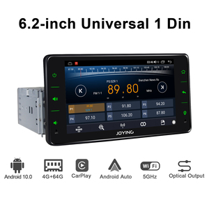 Image 2 - Android 10 head unit car radio 6.2 inch 4GB+64GB support 4G&Carplay&Android auto&Fast Boot audio RDS video GPS Navigation 5G WIF