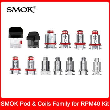Oryginalny SMOK RPM Pod i cewki dla smok RPM 40 zestaw RPM RBA Mesh potrójny kwarcowy SC MTL Nord cewki głowice dla E Cig RPM40 Pod zestaw do e-papierosa tanie i dobre opinie Wymienne SMOK RPM40 Nord Coils Series Coils Series for SMOK RPM40 kit 4 3ml 3pcs pack 4 5ml 3pcs pack 0 4 ohm (5pcs Pack)