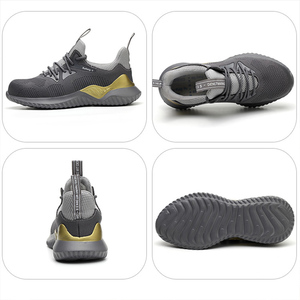 Image 2 - MWSC Men Safety Work Shoes Anti smashing Steel Toe Cap Work Boots Shoes Indestructible Construction Boots Male Safety Sneakers