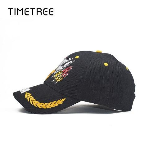 Vintage Eagle Head Embroidery Patriot Baseball Mesh Caps&Hat Outdoor Snapback Hats Adjustable Camping Baseball Caps gorras homme Karachi
