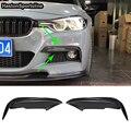 Для BMW 3 серии F30 F35 отделка переднего бампера из углеродного волокна противотуманный светильник противотуманная фара отделка 2013 ~ 2018 только ...