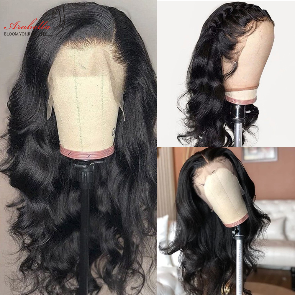 Body Wave Lace Frontal Wig  Hair 150% 180% Density 13X4 Lace Front Wig Arabella  Lace Front  Wigs 2