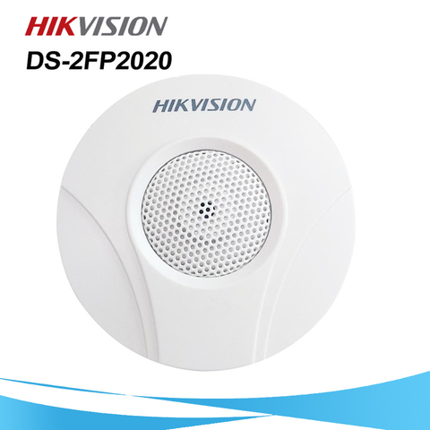 hikvision original ds 2fp2020 cctv microfone adaptador para ds 2cd2142fwd is iws ds 2cd2542fwd is