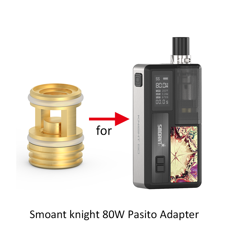 1pcs/pack Smoant Knight 80 Pasito Adapter Designed For Smoant Knight 80 Pod Mod Kit Electronic Cigarette Accessories