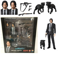 JOHN WICK Chapter 2 Mafex 085 PVC Action Figure Collection Toys Doll Gift