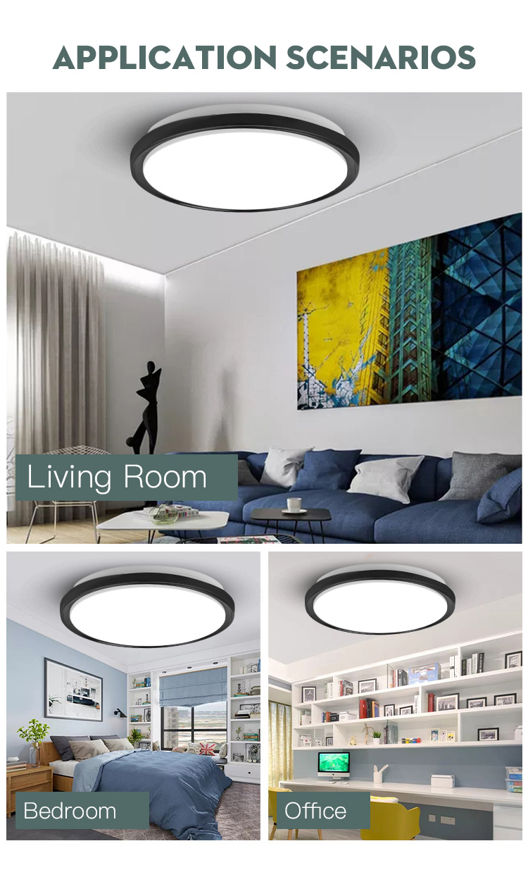 Hdd8b6e07671640c39418b2d4c57a3c8bw Led Ceiling Lights Modern LED Ceiling Lamp Light 220V 15W 20W 30W 50W Cold Warm White  Lighting Surface Mounted For Home Kitchen