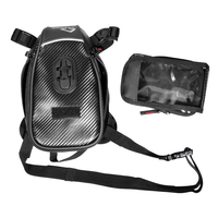 Zipper Leg Bag Touch Screen Running Storage Phone Pocket Sports Multifunctional Riding Motorcycle Outdoor Travel Reflective