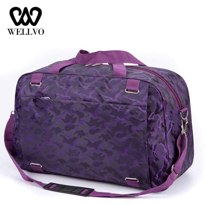 Woman Oxford Organizer Travel Bag Handbag Carry On Hand Luggage Bags Female Duffle Bags Men Travel Tote Big Weekend Bag XA722WB