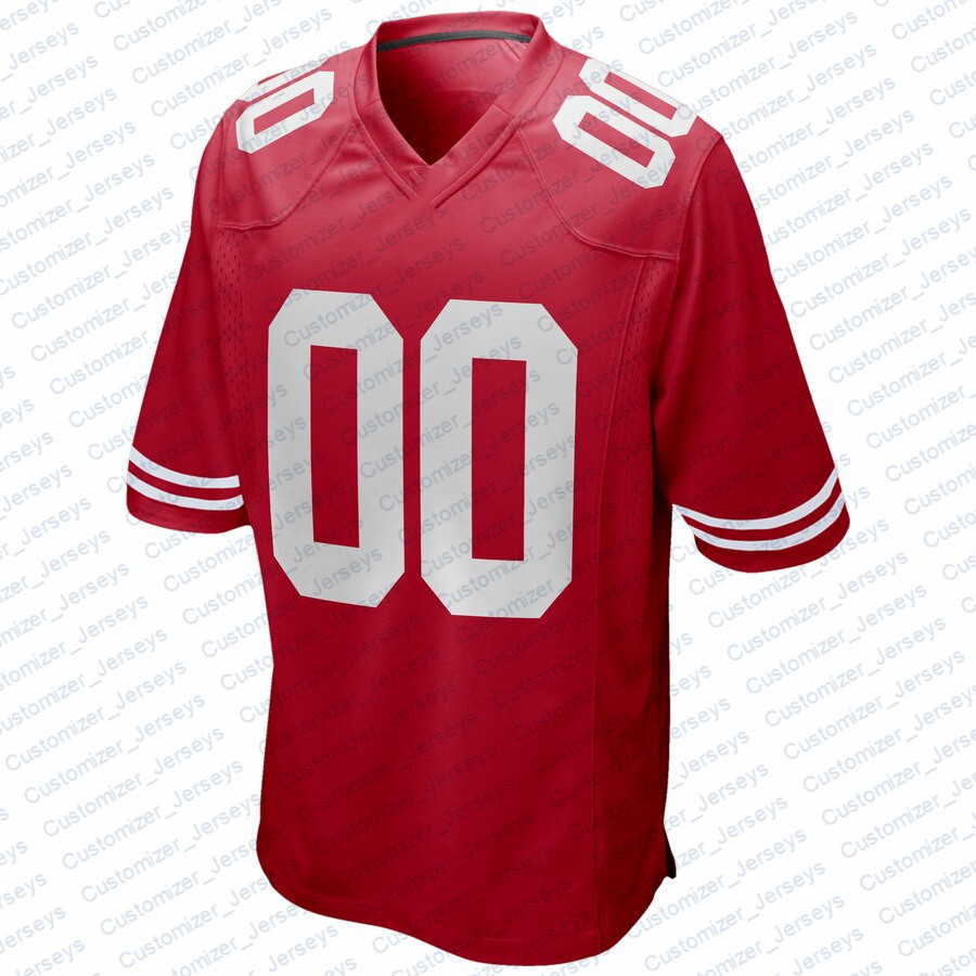 Men George Kittle Nick Bosa Jimmy Garoppolo Ronnie Lott Jerry Rice Joe Montana Richard Sherman Joe Montana San Francisco Jersey