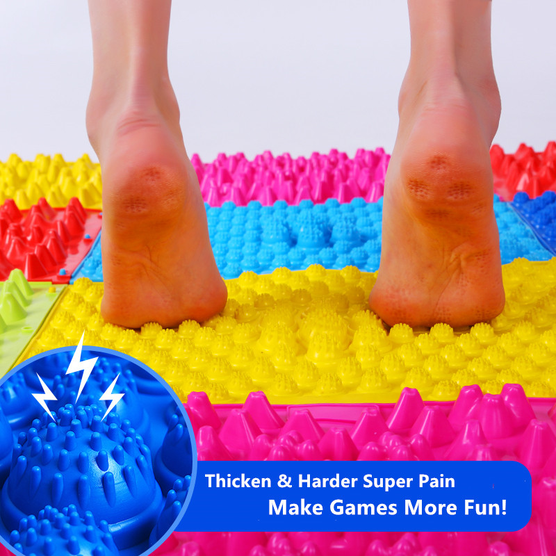 Team Building Outdoor Games Massage Board Mat  40x30cm Pads Playmat Wedding Party Game Gag Toys Massage Tools Kids Sensory Toy