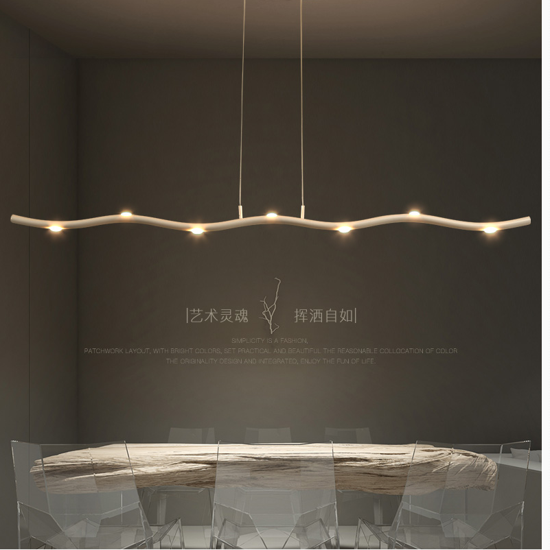 Modern Loft Led Chandelier White Light Nordic Tree Branch Lamp Bedroom Kitchen Dining Room Dining Room Lighting Decoration