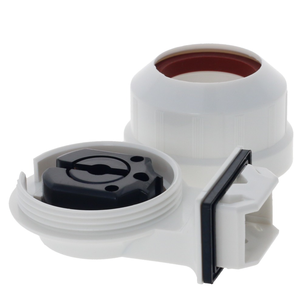 1~3pcs Waterproof <font><b>T8</b></font> <font><b>Lamp</b></font> Holder Fluorescent Light Base AC 500V 2A G13-F41G <font><b>T8</b></font> Tube G13 Plastic Holder <font><b>Socket</b></font> Lighting Accessory image