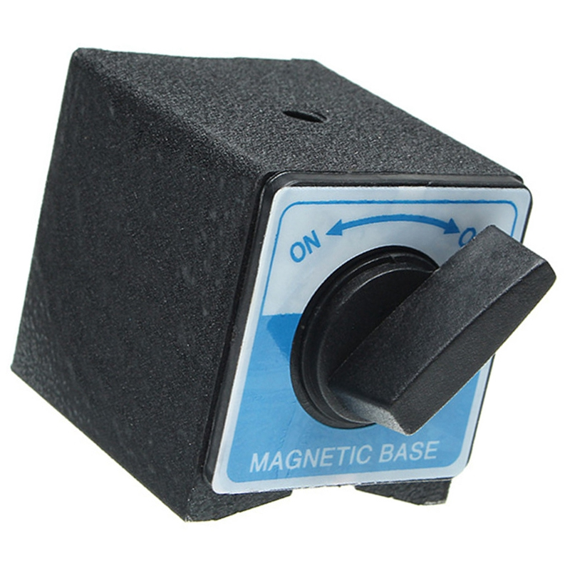 Magnetic Base, Without Adjustment Arm, Metric M8 X 1.25 Threaded Hole
