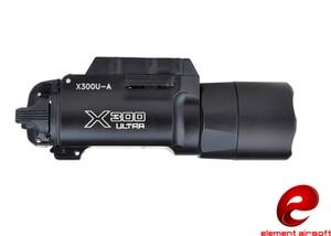 Image 3 - عنصر الادسنس Surefir X300 التكتيكية مضيا 370 التجويف مسدس سلاح ضوء Surefir X300U مصباح يدوي للبندقية EX359