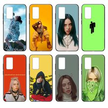 bad guys Billie eilish Etui black Phone case cover hull For Huawei nova P Y 2 3 6 7 8 9 10 20 30 I Smart Plus Z Lite Pro II(China)