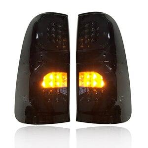 Image 4 - LED ด้านหลังพอดีโคมไฟ FOT HILUX VIGO 2005 2014 รถ LED ไฟเบรคด้านหลังโคมไฟแสงสีดำรถ ACCESSIRIES อัตโนมัติ