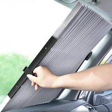 ستارة سيارة SUV قابلة للسحب ، 46 70 سنتيمتر ، زجاج أمامي ، مظلة ، مظلة ، حماية من الأشعة فوق البنفسجية ، مظلة ، قابلة للطي