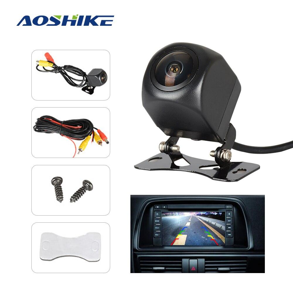 AOSHIKE HD 170 Degree Car Rear View Camera Sony Fish Eye Lens Starlight Night Vision Car Reverse Camera Vehicle Parking Camera