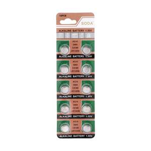 Cell-Button-Battery for Watch Clock Promotion 10pcs/Pack LR1130 389A LR54 Alkaline L1131