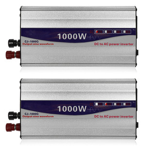Image 1 - 1Set LED Display 1000W Pure Sine Wave Power Inverter 12V/ 24V To 220V Converter Transformer Power Supply Inverter