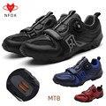Мужская обувь для езды на горном велосипеде lockstep  размер 45/46  черная красная велосипедная обувь для взрослых