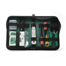 Набор инструментов для ремонта компьютерной сети тестер кабелей