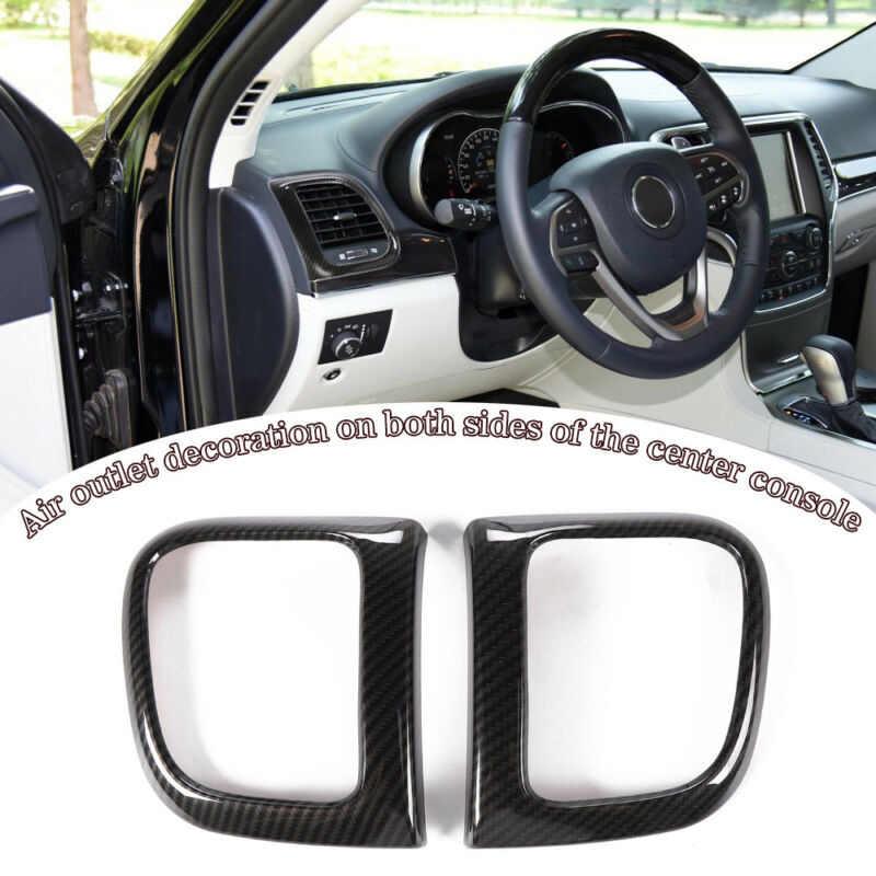 Auto Air Vent Outlet trimmen Seite Abdeckung Für Jeep Grand Cherokee 2011 + ABS Decor