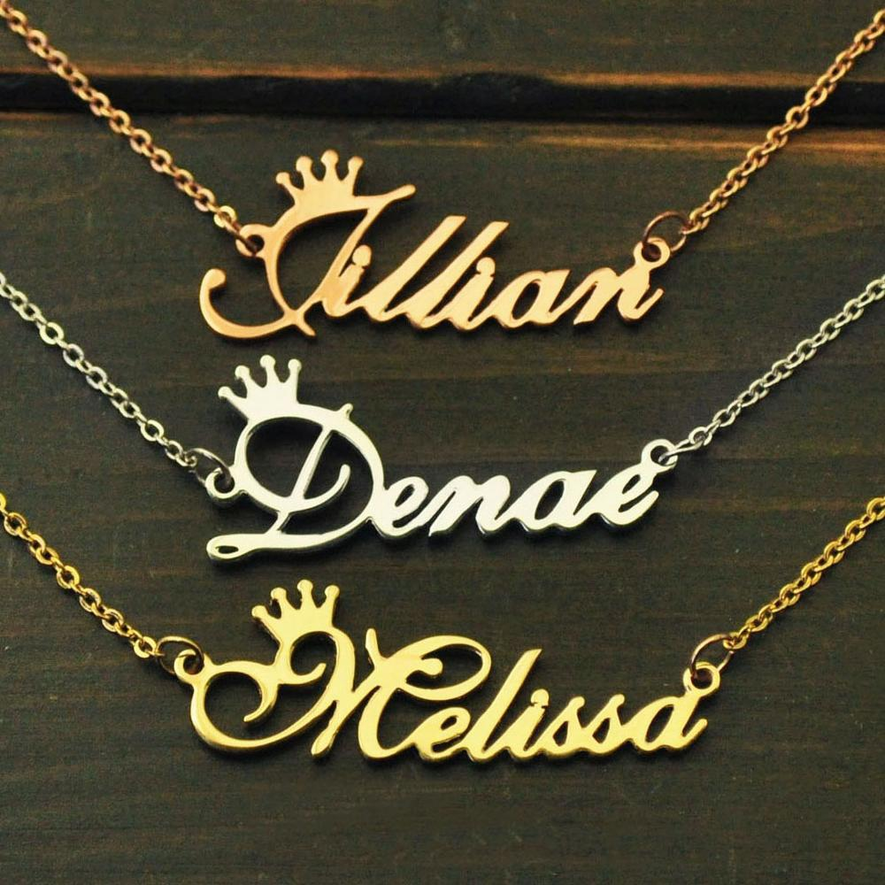 Personalized Necklace,Name Necklace,Custom Name Necklace,Personalized Name Plate Jewelry,Alloy Necklace|personalized name necklace|personalized necklacename necklace - AliExpress