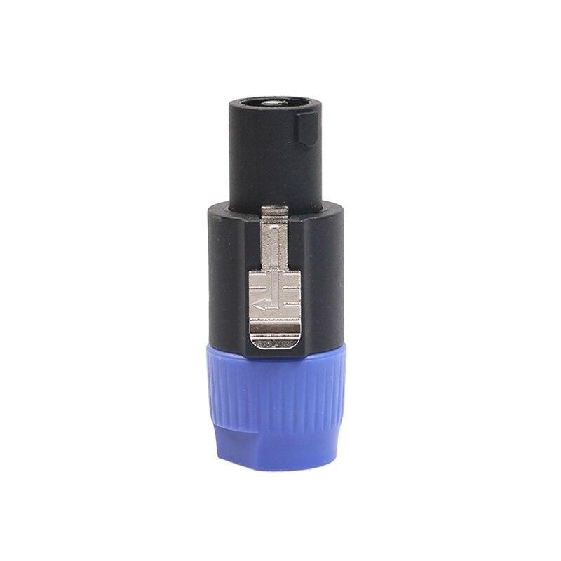 4 шт полюсный спикер разъем twist lock кабельный для neutrik