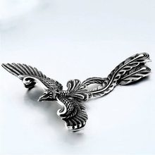 Cool 3D Phoenix Hanger Ketting Metalen Charm Animal Sieraden(China)