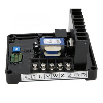 GB170 AVR Automatic Voltage Regulator for Brush Three Phase STC Alternator Voltage Regulator gavr 15b for alternator 15b alternator avr
