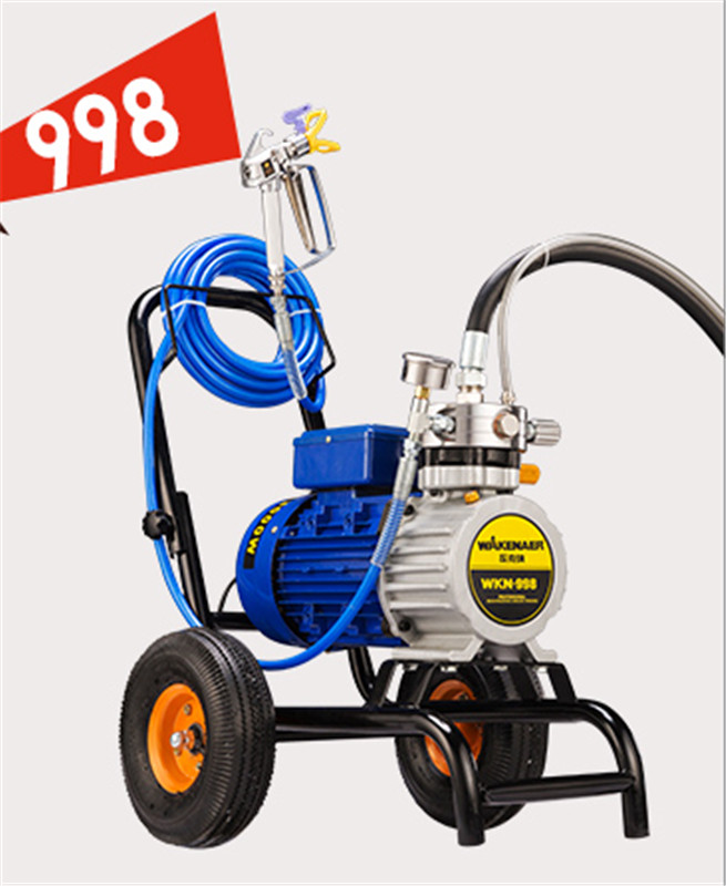 High pressure Airless Paint Sprayer 220V 3000/3500W 8L/12L min With 1/2 Spray Guns Electric Airless Painting Machine 3000N/S