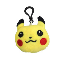 New Size 6CM Pikachu, Stuffed Plush Dolls , Key chain TOYS Kawaii small item Birthday decorations N28
