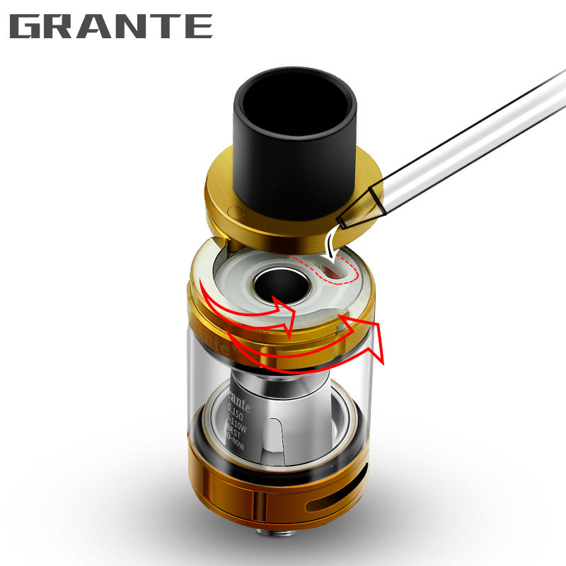 100 Original Grante V8 Big Baby Atomizer With 5ml Top Filling For V8 Big Baby Beast Tank Fit G Priv Alien Vape Mod Ecigs in Electronic Cigarette Atomizers from Consumer Electronics