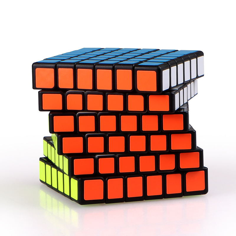 New MoYu 7x7 Magic Cubes Stickerless Professional Speed Cube Pocket Sticker Puzzles Magico Montessori Educational Toy For Kid