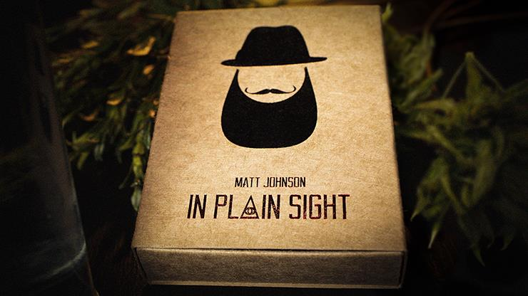 In Plain Sight By Matt Johnson,Magic Tricks