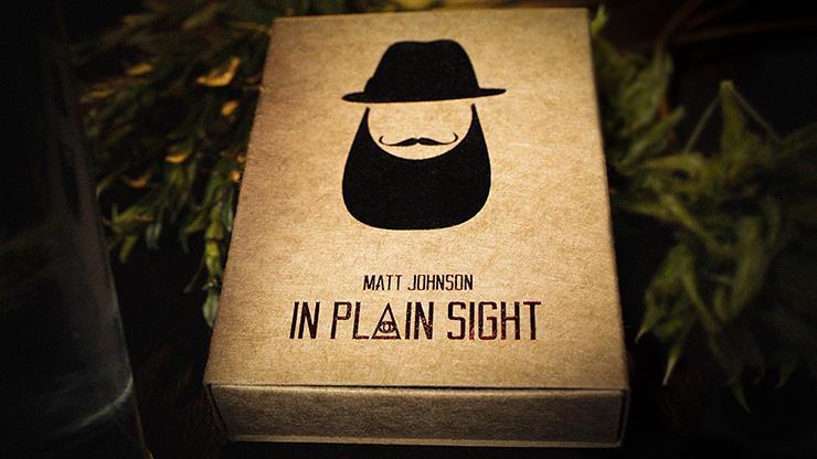 In Plain Sight By Matt Johnson,Magic Tricks