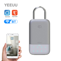 YEEUU Tuya Smart Key Storage Lock Box BT Wireless Network Password Key Safe Box APP Remote Control Key Lock Box Weatherproof