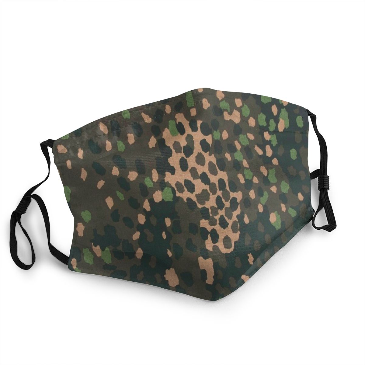 Pea Dot Camo Reusable Face Mask Multicam Military Anti Bacterial Dustproof Mask Protection Cover Respirator Mouth Muffle