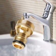 Universel 23 mm connecteur rapide en laiton pur cuisine salle de bain robinet robinet connecteur tuyau de jardin eau connexion adaptateurs