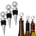 Neue Flasche Stopper Wein Lagerung Twist Kappe Stecker Reusable Vakuum Versiegelt Flasche Kappe Champagner Stopper Wein Geschenke Bar Werkzeuge