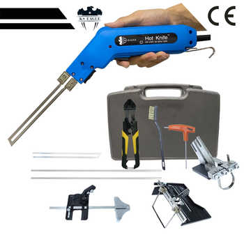 Eletric Hot Knife Kit 150 W Hand Hold Banner Hot Heating Knife Cutter Rope Hot heat Knife Foam Cutter 4 PC Blade